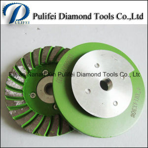 100mm Angle Grinder Diamond Concrete Stone Floor Grinding Wheel pictures & photos