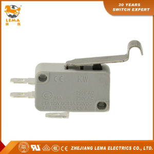 Lema 16A CCC Ce UL VDE Kw7-5I Bent Lever Micro Switch pictures & photos