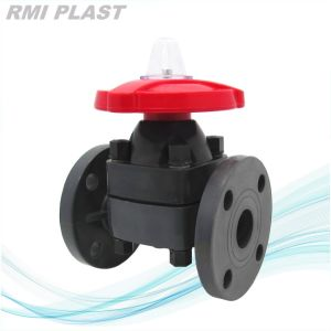 PVC Valve/Water Valve/Plastic Diaphragm Valve pictures & photos