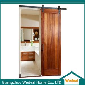 Project Wooden Veneer Sliding Kitchen Barn Door with Hardware pictures & photos