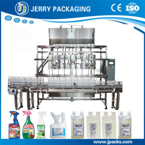 Chinese Automatic Filling Capping Labeling Line for Bottle /Bottling /Drum pictures & photos