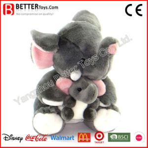 Mother′s Day Stuffed Animal Plush Toy Elephant pictures & photos