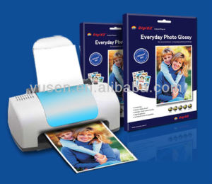 260GSM Double Coated Glossy Inkjet Photo Paper pictures & photos