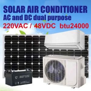 24000BTU Solar Air Conditioner, on Grid, DC48V/AC220V pictures & photos