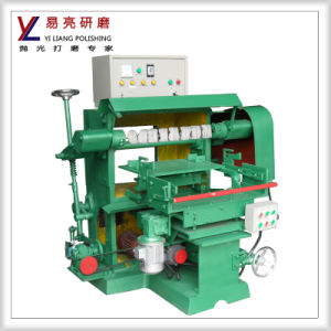 Metal Surface Grinding and Polishing Stainless Steel Spoon Buffing Machine pictures & photos