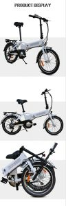Aluminum Alloy   Folding E-Bike with Hidden Battery pictures & photos
