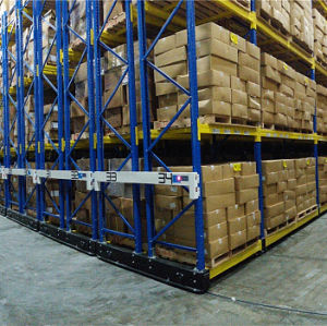 Warehouse Movable Pallet Rack for Heavy Duty Storage pictures & photos