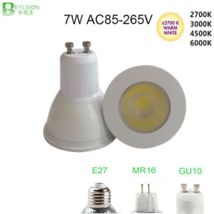 7W GU10 MR16 E27 High Power Dimmable LED Spotlighting pictures & photos