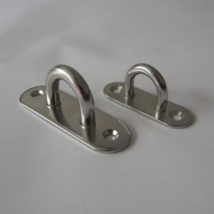 Stainless Steel Oblong Eye Plate pictures & photos
