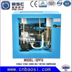 Belt Driven Screw Air Compressor (7.5kW 1.0m3/min 8Bar) pictures & photos