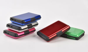Power Bank Function Credit Card Wallet pictures & photos