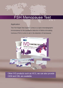 High Accuracy Urine Fsh Menopause Test pictures & photos