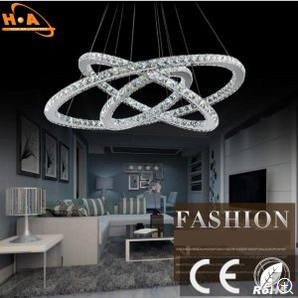 European Crystal Chandelier Living Room Lamp Energy-Saving LED Lamp pictures & photos
