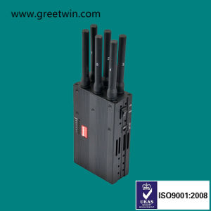 Handheld Cell Phone Jammer Portable Mobile Phone GPS Jammer (GW-JN6L) pictures & photos
