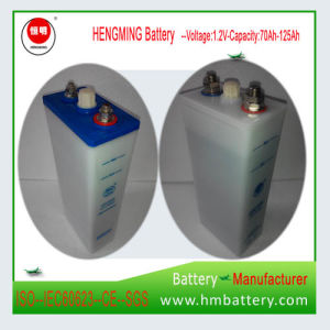 Nickel Cadmium Pocket Type Storage Battery/ Ni-CD Alkaline Battery Gn125 for UPS pictures & photos