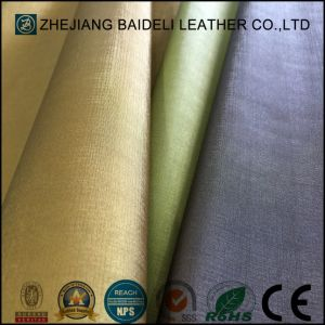 Abrasion Resistant PU Leather for Sofa Upholstery pictures & photos