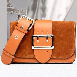 2017 Genuine Leather Suede Women Shoulder Bag Fashion Design Lady Handbag Emg4901 pictures & photos