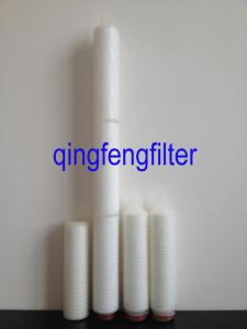 Chemical & Water Treatment 0.2um Hydrophobic PTFE Filter Cartridge pictures & photos
