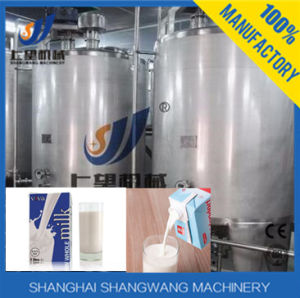 Complete Dairy Pasteurized Milk /Yogurt/Ice Cream Production Line pictures & photos