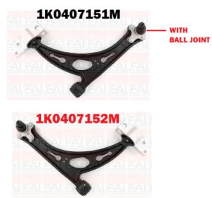 Suspension Wishbone Arms for Audi A3/VW with Ball Joint Fitting pictures & photos