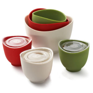 Food Grade Silicone Mixing Bowl pictures & photos