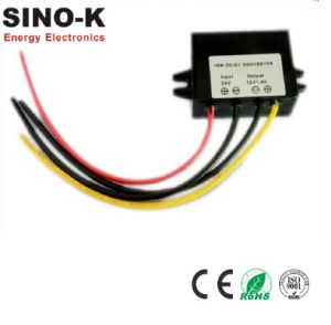 Waterproof DC-DC 24V to 12V 1.5A 18W Buck Power Converter pictures & photos