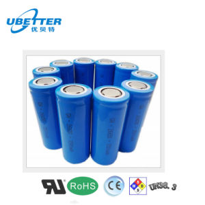 3.2V 1400mAh Rechargeable Cylindrical LiFePO4 Battery Cell pictures & photos