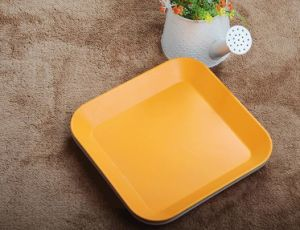 BPA Free Eco Bamboo Fiber Large Serving Tray (YK-P30201) pictures & photos