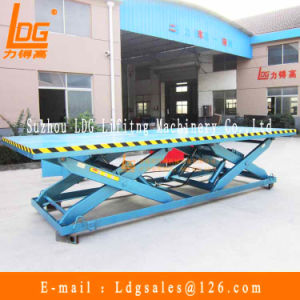 Stationary Hydraulic Double Scissors Table Lift (SJG0.5-1D) pictures & photos