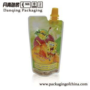 Daniqing Plastic Laminated Baby Food Packaging Juice Stand up Spout Pouch Y1701 pictures & photos