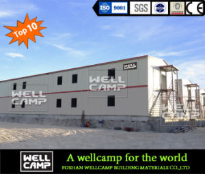 Movable and Portable Steel Building for Workers′ Office pictures & photos