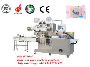 Hm-Bz3030 Plastic Packaging Material Baby Wet Wipes Packaging Machine