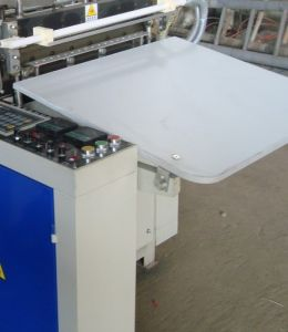 Single Line Cold Cutting Bag Making Machine (SHXJ-800S) pictures & photos
