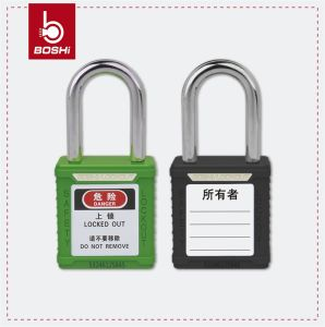Safety Padlock ABS Body Steel Shackle Kd/Mk/Ka Bd-G01 pictures & photos
