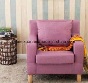 Contracted The Cafe ′seats Sofa Sofa The Hotel Double Sofa Cloth Art (M-X3781) pictures & photos