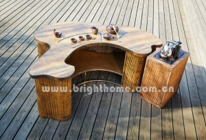 New Design Outdoor Rope Weaving Tea Table pictures & photos