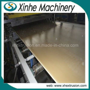 PVC Free Foaming Board Extrusion Machine/Plastic Extruder Line pictures & photos