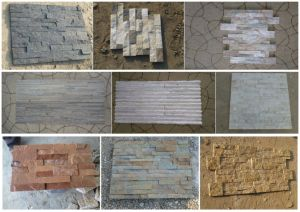 China Building Material Outdoor Decoration Black /White/Red/Yellow/ Slate, Culture Stones /Artificial Stones pictures & photos