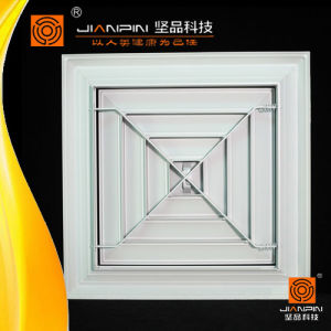 HVAC System Ceiling Diffuser Square Aluminium Air Diffuser with Damper pictures & photos