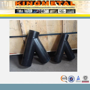 Supply Forged Carbon Steel Seamless Y Tee pictures & photos
