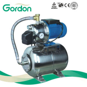 Jet Stainless Steel Self-Priming Water Pump with Pressure Gauge pictures & photos