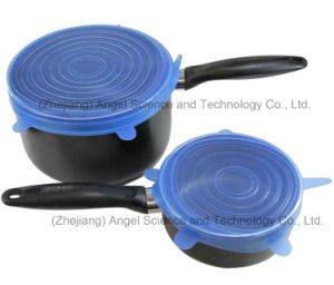 Hot Sale 6PC Kitchen Silicone Food Cover SL16 pictures & photos