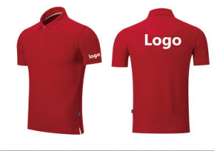 OEM Custom High Quality Printing/ Embroidery Pure Color Cotton/ Polyester Polo Shirt pictures & photos