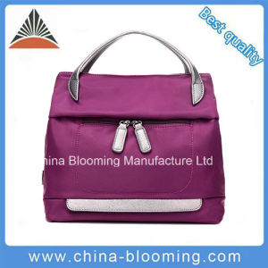 Outdoor Fashion Purple Beach Handbags Shopping Women′s Tote Bag pictures & photos