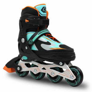 Semi Soft Abjustable Inline Skate (SS-159A-2) pictures & photos