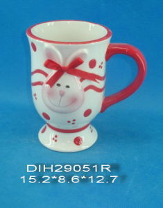 Hand-Painted Ceramic Coffee Cup for Easter Decoration pictures & photos
