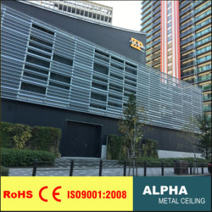 Exterior Customized Perforated Aluminum Metalcurtain Wall Panel Facades and Claddings pictures & photos