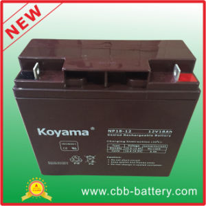 Good Quality UPS Battery Alarm Battery 17ah 12V pictures & photos