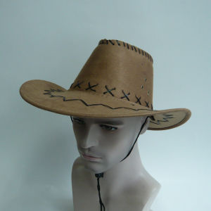 Suede Fabric Cowboy Hat pictures & photos