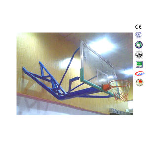 Wall Mounted Safety Tempered Glass Basketball Goals for School pictures & photos